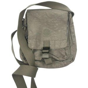 Kipling Stone Color Nylon Medium Crossbody Bag